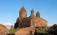 Ereván - Saghmosavank - Ashtarak - Ereván. Saghmosavank,  el monasterio de los salmos - Armenia Circuito Armenia, la leyenda de Noé