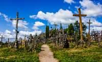 Vilnius - Colina de las Cruces - Rundale - Riga. Cruces y... A Letonia - Suecia Circuito Capitales Bálticas y Estocolmo