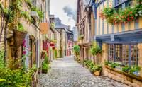 Quimper - Dinan - Mont-Saint Michel - St. Malo. Camino a la abadía - Francia Circuito Castillos de Loira, Normandía y París