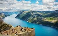 Stavanger. El Púlpito, tocando el cielo con las manos - Noruega Circuito Lo Mejor de los Fiordos y Oslo