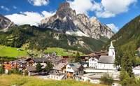 Región de Cortina D'Ampezzo — Corvara — Arabba — Ortisei — Bolzano. Paisajes tiroleses e italianos - Italia Circuito Lo mejor de los Dolomitas y Venecia