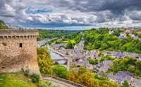 Quimper - Dinan - Mont Saint Michel - St. Malo - Francia Circuito Castillos del Loira y Normandía