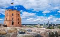Vilnius. Preciosos monumentos, edificios e iglesias - Lituania Circuito Repúblicas Bálticas