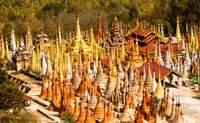 Lago Inle - In Thein - Lago Inle. Miles de estupas - Camboya Gran Viaje Camboya y Myanmar