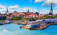 Tallin – Estocolmo. Navegando hacia Estocolmo - Dinamarca Circuito Repúblicas Bálticas y Capitales Nórdicas