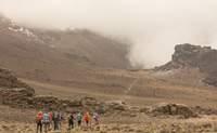 De Shira Camp (3.749 m) a Barranco Camp (3.901 m). ¿Quieres ver una torre de lava? - Tanzania Gran Viaje Ascensión al Kilimanjaro: Ruta Machame