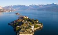 Lago Maggiore (Islas Borromeas). Un imponente palacio y un exuberante jardín botánico - Italia Circuito Lagos italianos