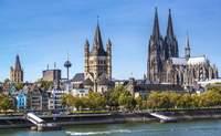 Ámsterdam – Paseo en barco por el Rhin – Colonia – Frankfurt. Cita en Colonia, con un paseo en barco por el Rhin, destino Frankfurt - Bélgica Circuito Londres, Países Bajos y el Rhin