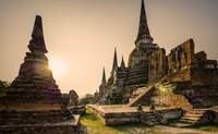 Bangkok – Ayutthaya – Lopburi – Phitsanulok. Arqueología y monos por doquier - Tailandia Gran Viaje Capitales del Siam y playas de Phuket