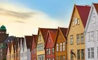 Bergen-Cascadas de Voringsfossen-Oslo. Prepara tu cámara. Estás en la ciudad más bonita de Noruega. - Finlandia Circuito Perlas del Báltico, Fiordos y Copenhague