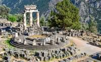 Atenas – Delfos - Kalambaka. Piensa tu pregunta al Oráculo  ¡Rumbo al Norte! - Grecia Circuito Grecia Milenaria y Santorini