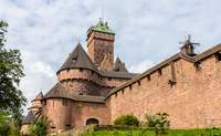 """Estrasburgo – Castillo de Haut Koenigsbourg – Estrasburgo: """"Sede de instituciones europeas"""" - Francia Circuito La Ruta del Champagne, Luxemburgo y Alsacia"""