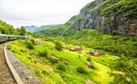 Valle de Voss-Stavanger. Disfrutando de los fiordos subido a un tren - Noruega Circuito Fiordos Noruegos