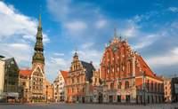 Riga. Arquitectura art nouveau y construcciones de madera - Lituania Circuito Repúblicas Bálticas