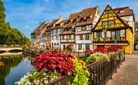 """Estrasburgo - Colmar - Ruta de los vinos de Alsacia – Estrasburgo: Descubre las típicas casas alsacianas"""" - Francia Circuito La Ruta del Champagne, Luxemburgo y Alsacia"""