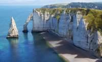 Le Havre - Acantilados de Étretat- Honfleur - Rouen. Frente al Canal De La Mancha - Francia Circuito Gran Tour de Normandía y Bretaña